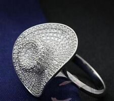 Simulated Statement Round Costume Rings