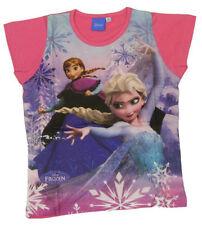 Vêtements t-shirts manches courtes pour fille de 2 à 16 ans en 100% coton taille 6 - 7 ans