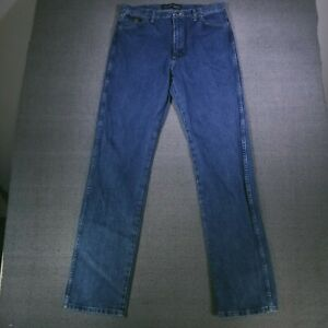Wrangler Men's George Strait Jeans 36X38 Cowboy Cut Collection Medium Wash Denim