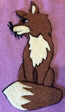 Brown  Fox Decoration Patch Iron on or Glue on #2