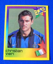 VIERI INTER FIGURINA PANINI ESTRELLAS DEL FUTBOL 2002 N.40 new