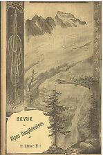 Revue des Alpes Dauphinoises N°1 -1898- La brèche Joseph Turc Le Pic de Bure
