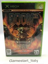 DOOM 3: RESURRECTION OF EVIL (XBOX) NUOVO SIGILLATO NEW SEALED PAL VERSION