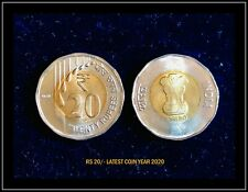 Rs 20/- India Coinage - 2020 LATEST DESIGN / LATEST ISSUE LTD AND RARE