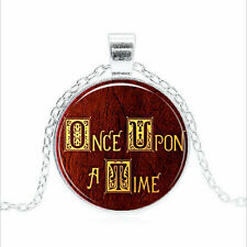 Once Upon A Time Tibet silver Glass dome Necklace chain Pendant Wholesale