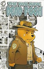 The Walking Dead Pooh Homage ECCC PGX 9.9 GRADED & SLABBED One-Shot Comic Book