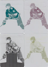 2011-12 DOMINION 4x STEVEN STAMKOS 1/1 COMPLETE PRITING PLATE SET