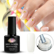 7ML Vrenmol Nail Gel Polish Newest Clear Milky Protein Color Semic Permanent UV