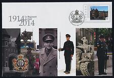 Canada S102 Pre-paid Envelope - Regiment de Hull, Military, Tank, Architecture