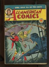 ALL AMERICAN COMICS #65 (4.0) GREEN LANTERN COVER