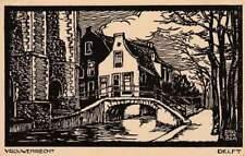 Ansichtkaart Nederland : Delft - Vrouwenrecht (bc205)
