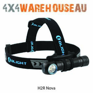 Olight H2R 2300 lumen rechargeable LED headlamp and angle torch - Cool White H2R