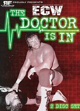 ECW Wrestling: The Doctor is In DVD, Steve Williams Dr. Death Chris Jericho Taz