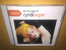 CYNDI LAUPER hits CD she bop GIRLS JUST WANNA HAVE FUN true colors TIME AFTER TI
