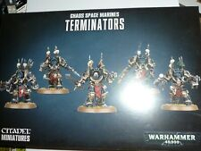 Warhammer 40K Chaos Space Marine Terminators set GW