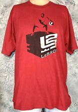 Vintage Style LEBRON JAMES Nike Basketball L2 AIR ZOOM GENERATION NBA XL T-Shirt