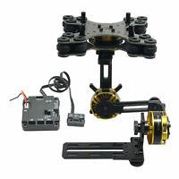 Aluminum Mini DSLR 3-Axis Brushless Gimbal+Motors & Controller for NEX5/6/7 FPV