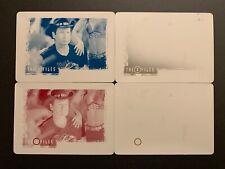 X-Files Seasons 10 & 11 Printing Plate Set of 4 Card #29 Babylon