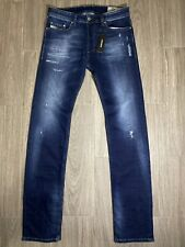 DIESEL R8FG4 Stretch SAFADO-R Regular Slim Straight Jeans NWT