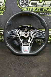 2015-2016 SUBARU WRX STI STEERING WHEEL HYPER BLUE