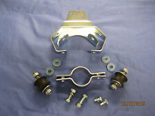 MGB  REAR EXHAUST BRACKET KIT, RUBBER BUMPER ROADSTER & GT       v2c