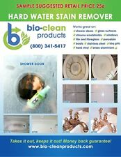 Bio Clean: Eco Friendly Hard Water Stain Remover 10oz – Money Back Guarantee