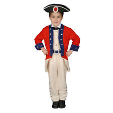 Boys Colonial Soldier Historical Halloween Costume