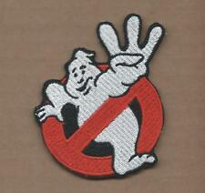 New 3 X 3 1/4 Inch Ghost Busters 3 Iron On Patch Free Shipping