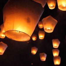 5Pcs KongMing Wishing Paper Light Lanterns Lamp Fuel Cell Fire Fly Sky Wedding