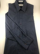 Men's Albert Nipon Button Dress Shirt Long Sleeve Size M 15.5 32/33-#A16