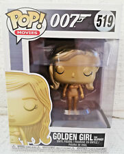 New Funko POP! Movies 007 Golden Girl from Goldfinger Vinyl Figure #519
