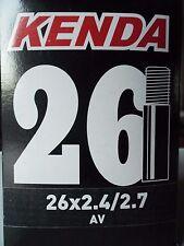 KENDA HEAVY DUTY BICICLETTA CAMERA D'ARIA 26 x 2.4/2.75 BICI CICLISMO AV