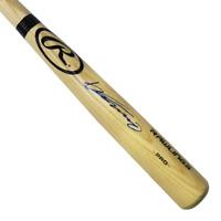 Vladimir Guerrero Autographed Rawlings Baseball Bat Blonde (JSA COA)