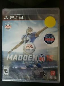 MADDEN 16 PS3 New W Hollagram Sticker Case In Packaging - Free Shipping