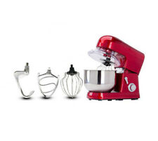 Classic Stand Mixer 6 Speed Kitchen For Dough Bread Cake Cooking Red 5 L Bowl CE