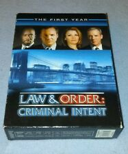 LAW & ORDER criminal intent the first year  complete DVD