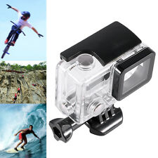 Side Open Skeleton Housing Protective Case Cover & Mount For GoPro Hero 4 3+ New