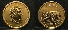 2013 CANADA POLAR BEAR & QUEEN--$10 GOLD BU ENCASED 1/4 OZ .9999 PURE GOLD COIN
