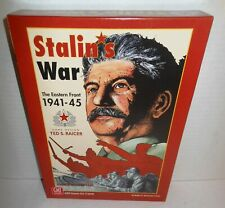 Boxed BOARD WAR GAME Stalin's War Eastern Front 1941-45op GDW 2010