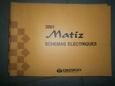 Daewoo MATIZ 2001 : Schémas électriques