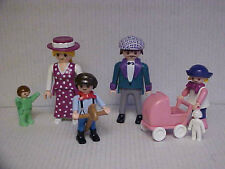 Playmobil Victorian Dollhouse Family of 5  NEW
