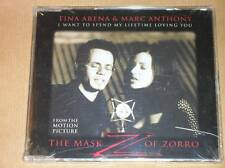 RARE CD SINGLE 4 TITRES / TINA ARENA & MARC ANTHONY / THE MASK OF ZORRO / NEUF