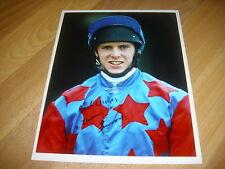 Owen BURROWS Horse Racing NH Jockey  6/10/94  Original Hand SIGNED Press Photo
