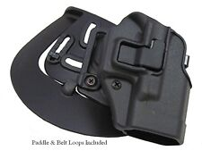 "Blackhawk Serpa CQC Holster For 1911 Pistols W/ 5"" Barrel RH Blk 410503BK-R"