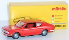 Märklin 1:43 18103-03 Audi 100 Coupé aus Metall in karminrot - NEU + OVP