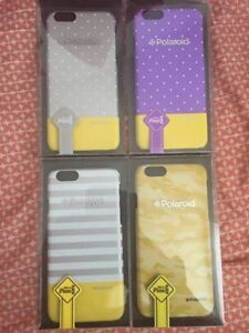 4 Pack of NEW Polaroid iPhone 6 Hard Cases