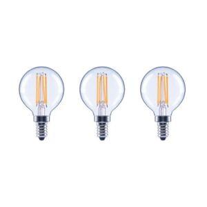 EcoSmart 40W Equivelent Daylight G25 Globe Vintage Style LED Light Bulb 3 Pack