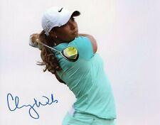 Cheyenne Woods Autographed Signed LPGA 8x10 Photo D