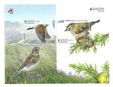 Portugal 2019 - Europa, Birds - Azores S/S MNH