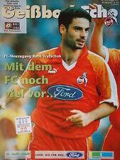 Programm 1997/98 1. FC Köln - Kaiserslautern